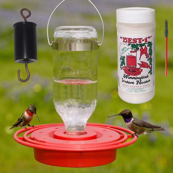 Best-1 Hummingbird Feeder 8 oz. Gift Pack Kit