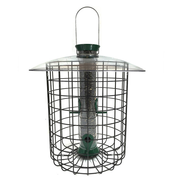 Droll Yankees Sunflower Domed Caged Feeder