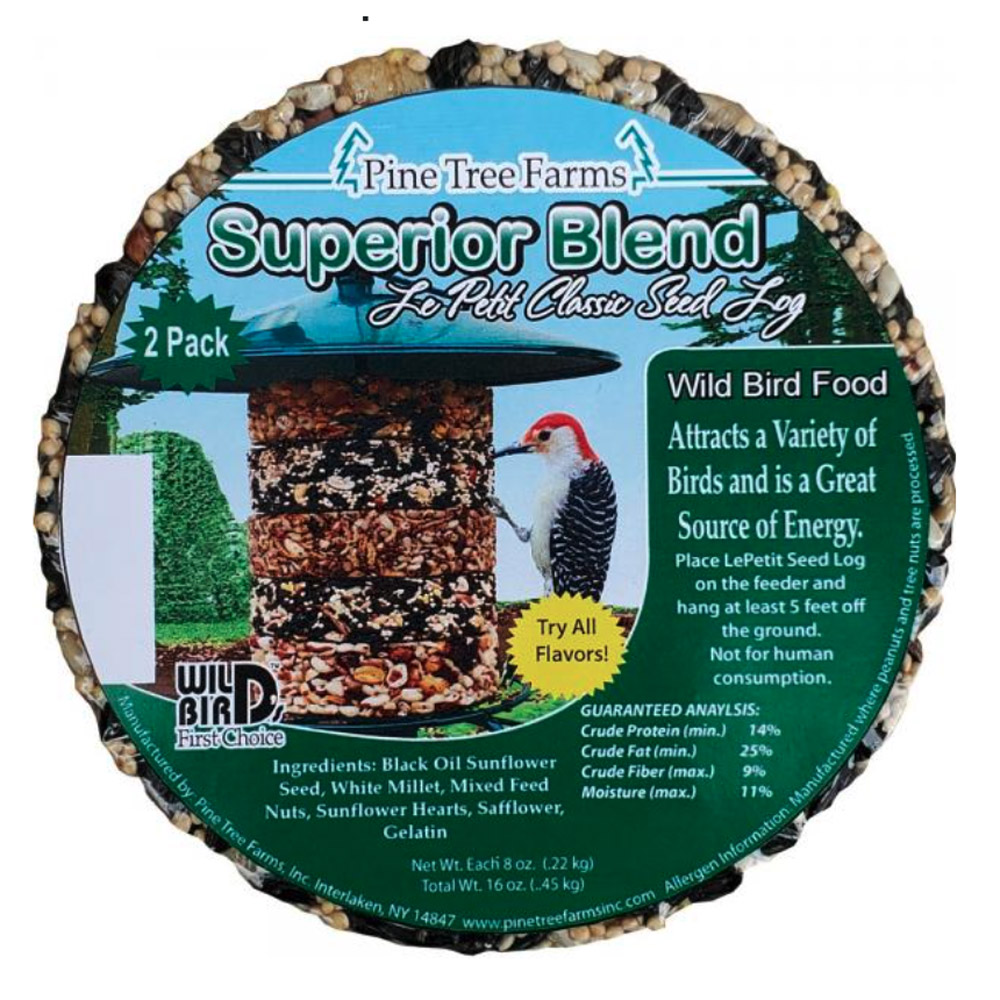 Le Petit Superior Blend Classic Seed Log 2 pack