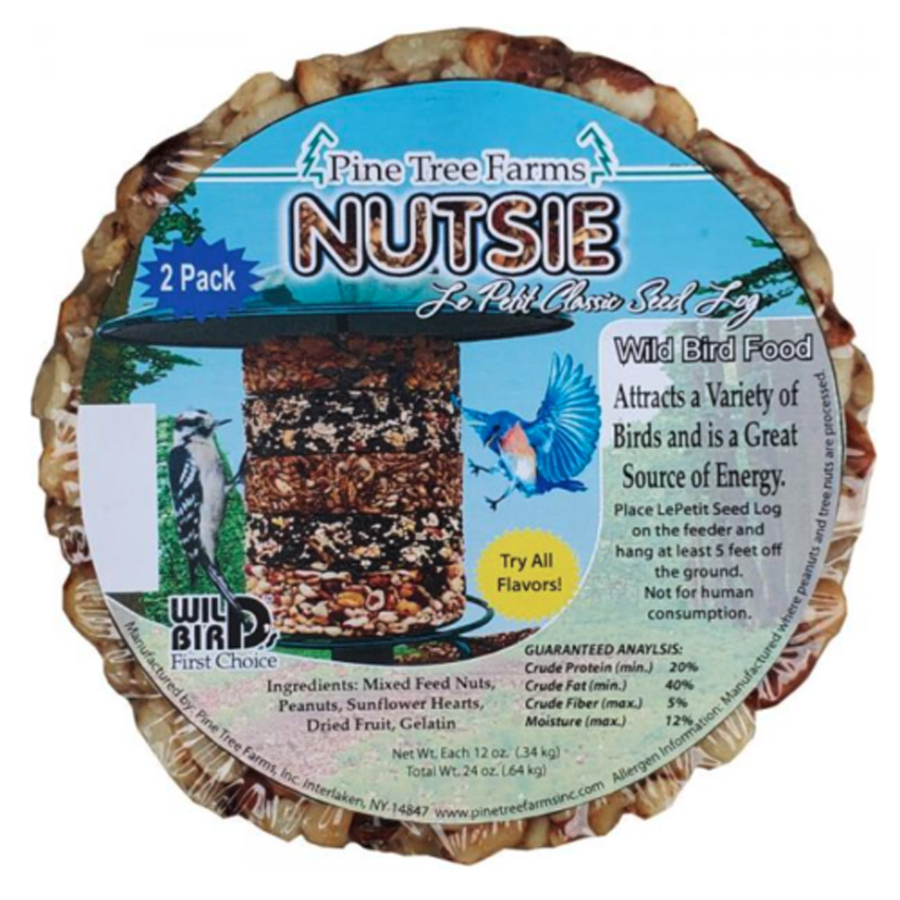 Le Petit Nutsie Classic Seed Log 2 pack