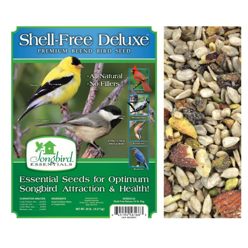 Shell Free Deluxe 5lb USA Premium Wild Bird Seed