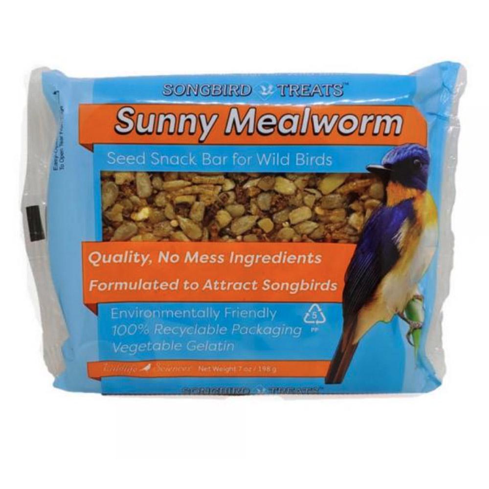 Sunny Mealworm 7oz Seed Bar