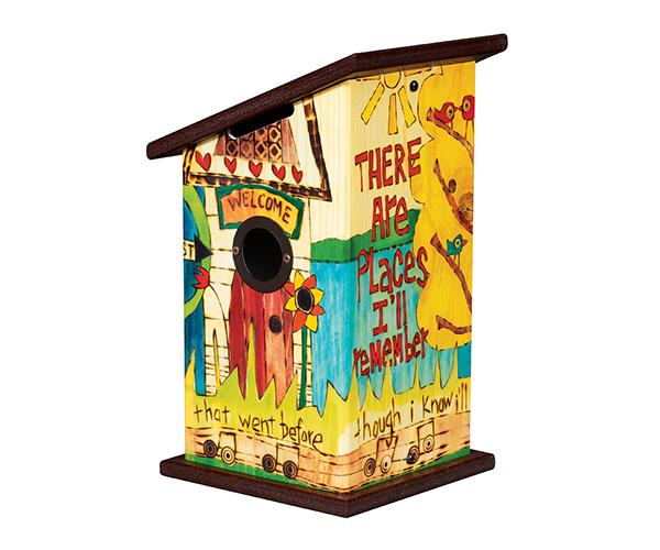 Rare Decorative Birdhouse